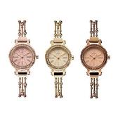 石英錶-潮流水鑽時裝手鍊造型女手錶3色71r10【時尚巴黎】
