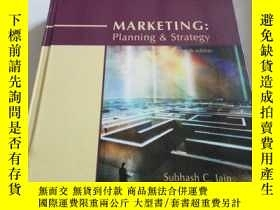 二手書博民逛書店MARKETING:planning罕見& strategy(英