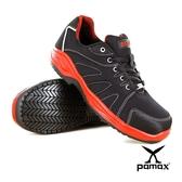 PAMAX 帕瑪斯【超彈力、超透氣】運動型透氣網布、高抓地力安全鞋、夜間反光  PAA66617H