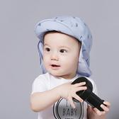 腳踏車印花遮陽帽 (防曬布可拆.2用) 帽子 盆帽 圓帽 防曬帽 橘魔法 Baby magic 兒童 嬰兒 小童