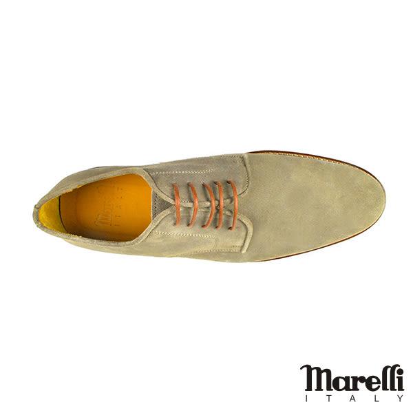 【Marelli】復古雅痞麂皮休閒鞋 駝色(2227-CAMS)