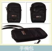 純黑手機斜包 皮帶手機包 皮帶 手機包 收納包 小包 包包 腰包 側背包