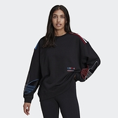 【一月大促折後$2480】Adidas SPACE RACE ADICOLOR 長袖上衣 女 GN2822