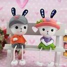 家居創意裝飾品客廳小擺件工藝品可愛吊腳娃娃浴室房間臥室內擺設 618購物節