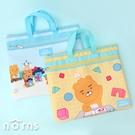 Kakao Friends Baby系列方形拉鍊手提袋 - Norns 正版授權 補習袋 Little Friends Ryan萊恩 Apeach桃子