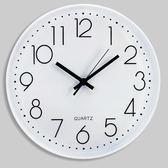 鐘表掛鐘客廳電子時鐘現代簡約靜音無聲個性創意家用辦公臥室鐘