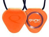 【Q-Link】生物能共振晶體項鍊 ─ 太陽橘 (新一代 SRT3效果增加20%)