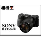 ★相機王★Sony A6600M 黑色〔含 18-135mm 鏡頭〕A6600 公司貨 送背帶 2/9止
