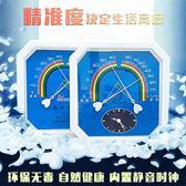 濕度計八角壁掛指針式干濕度計工業高精度室內藥房大棚溫濕度錶京都3C