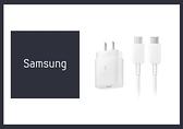 SAMSUNG 原廠 25W Type C閃電快充EP-TA800 + Type C 充電線組-白色 (適用Note20/ Note10)