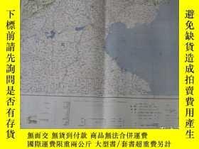 二手書博民逛書店1933年出版《北京》地圖罕見大日本帝國陸地測量部 46×58c
