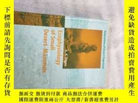 二手書博民逛書店Ecophysiology罕見of Small Desert M