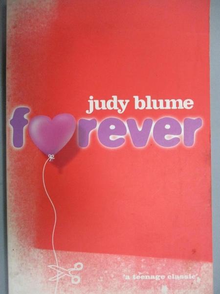 【書寶二手書T3/原文小說_GVW】FOREVER_Judy Blume