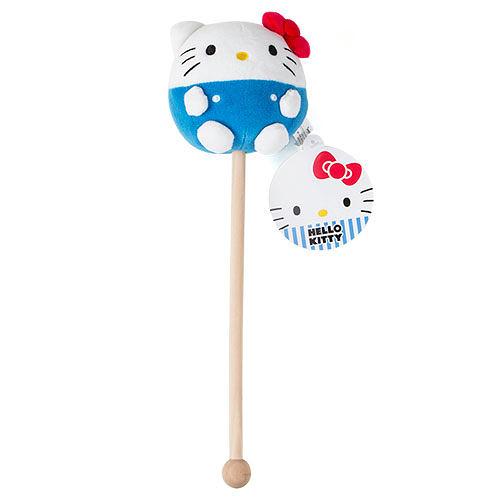 【震撼精品百貨】Hello Kitty_凱蒂貓~Sanrio HELLO KITTY圓滾滾絨毛造型按摩棍#56223