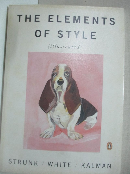 【書寶二手書T8/語言學習_AR6】The Elements of Style_Strunk, William Jr.