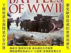 二手書博民逛書店《BATTLES罕見OF WWⅡ》 二戰Y2239 NIGEL