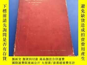 二手書博民逛書店SIXTH罕見REPORT ON PROGRESS IN MAN