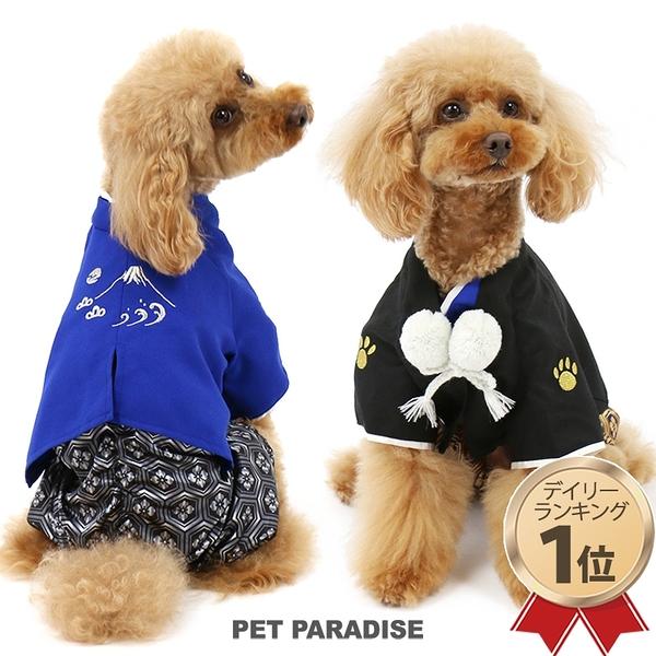 【PET PARADISE 寵物精品】 NARIKIRI 2019年新春連身和服/黑 (3S/DSS/SS/DS) 春季新品 寵物衣服