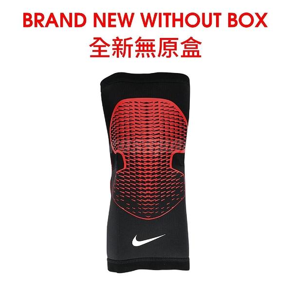 【SizeL-NG出清】Nike 護膝套 Pro Hyperstrong Knee Sleeve 男女款 膝蓋護套 全新無原盒 黑 紅【ACS】