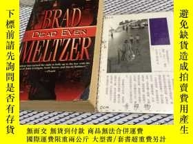 二手書博民逛書店英文原版罕見DEAD EVENY181828 BRAD MELT
