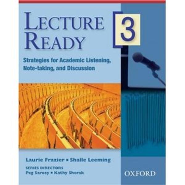(二手書)Lecture Ready 3!: Student Book