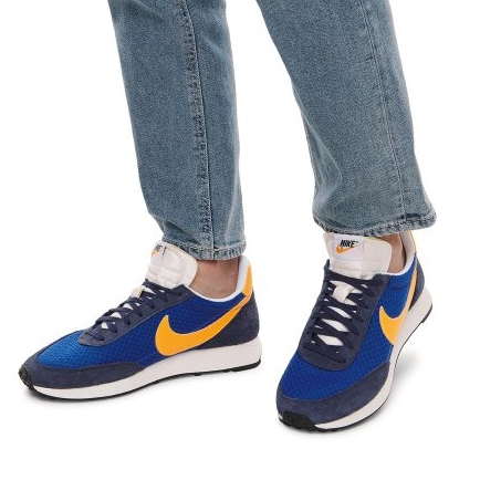 【折後$2699】NIKE Air Tailwind 79 藍黃 男鞋 麂皮 鞋面 休閒鞋 舒適 撞色 CW4808-484