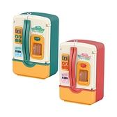 兒童玩具 扮家家酒 廚房玩具 噴霧款燈光音效雙門冰箱-JoyBaby