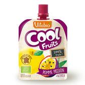 Vitabio 有機優鮮果泥 90g (蘋果 /百香果 /香蕉)