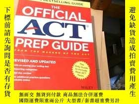 二手書博民逛書店THE罕見OFFICIAL ACT PREP GUIDEY164
