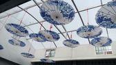 古典COS油紙傘防雨傘走秀道具傘演出舞蹈傘中國風吊頂裝飾傘 挪威森林