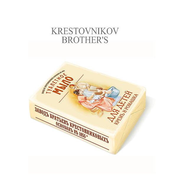 俄羅斯 K.B.F. 洋甘菊溫和滋養乳霜呵護皂 190g 香皂 肥皂 沐浴皂【小紅帽美妝】