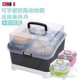 新生嬰兒大號餐具收納盒LVV1178【極致男人】