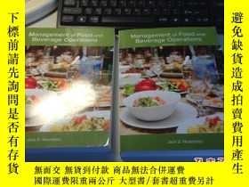 二手書博民逛書店Management罕見of Food and Beverage Operations 餐飲經營管理 英 語 第6