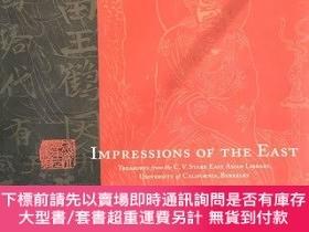 二手書博民逛書店Impressions罕見Of The East: Treasures From The Cv Starr Eas