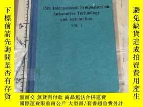 二手書博民逛書店15th罕見International Symposium on