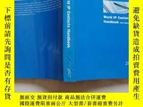 二手書博民逛書店world罕見Ip contacts hangbook 14th