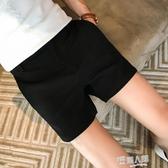 夏季男士三分褲韓版修身側開叉西裝短褲潮男英倫休閒超短褲3分褲