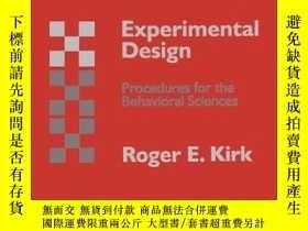 二手書博民逛書店Experimental罕見DesignY256260 Roger E. Kirk Wadsworth Pub