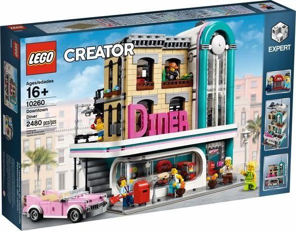 【LEGO樂高】CREATOR 城市餐館 #10260