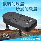自行車載人後坐墊加厚柔軟填充海綿山地車【步行者戶外生活館】