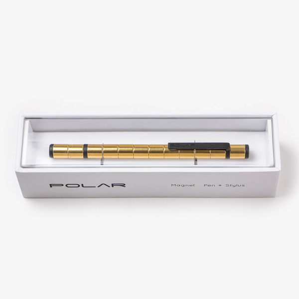 Polar Pen 2.0 磁極筆 烈日金 KICKSTARTER 集資網好評產品