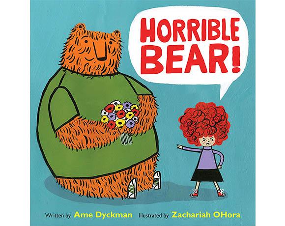 Horrible Bear! 大壞熊 精裝繪本(美國版)