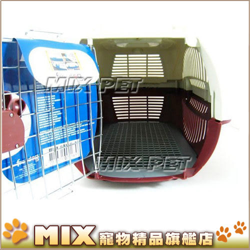 ◆MIX米克斯◆豪華可愛腳掌‧兩用運輸籠+提籃【大】適合中型犬或多隻小型犬共用