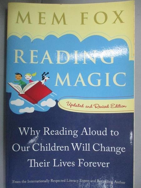 【書寶二手書T8/傳記_KIB】Reading Magic: Why Reading Aloud to Our Chil