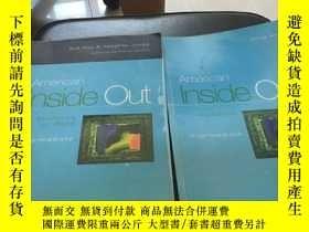 二手書博民逛書店American罕見Inside Out(學生用書+作業本)2冊