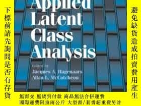 二手書博民逛書店Applied罕見Latent Class AnalysisY255562 Hagenaars, Jacque