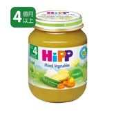 Hipp喜寶有 機綜合蔬菜泥 125gx6罐 450元