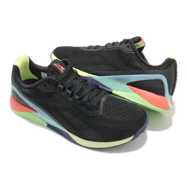 Reebok 訓練鞋 Nano X1 黑 綠 藍 橘 健身 重訓 CrossFit 運動鞋 女鞋【ACS】 FX3247