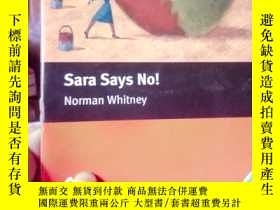 二手書博民逛書店Sara罕見Says NoY15389 Norman Whitn