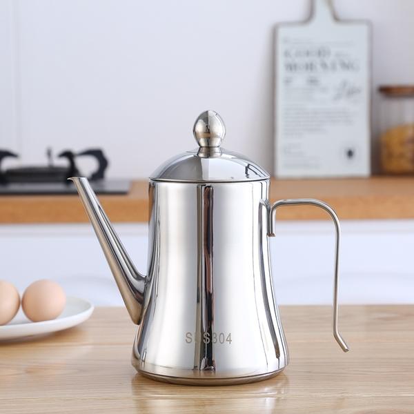 304不銹鋼油壺大容量防漏控油瓶家用裝油罐醬油壺濾油罐廚房用品
